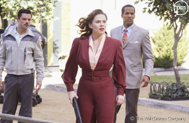 Hayley Atwell incarne l'agent Carter