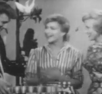 Johnny Hallyday dans 'L'école des vedettes' en 1960