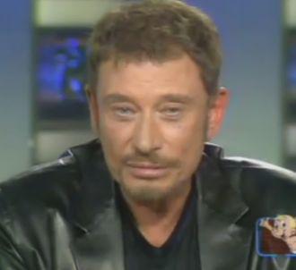 Johnny Hallyday face à Claire Chazal sur TF1