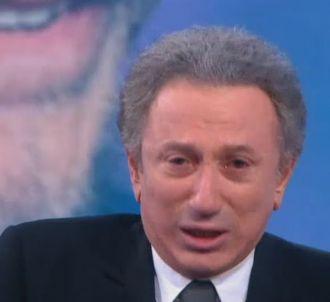 Michel Drucker en larmes sur France 2