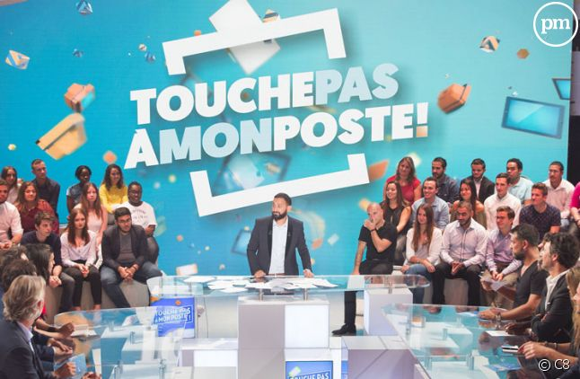 """Cyril Hanouna anime """"Touche pas à mon poste"""" du lundi au jeudi sur C8"""