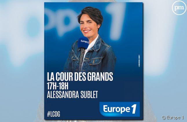 La pub erronée d'Europe 1 pour Alessandra Sublet