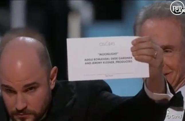 La grosse boulette des Oscars (Capture)