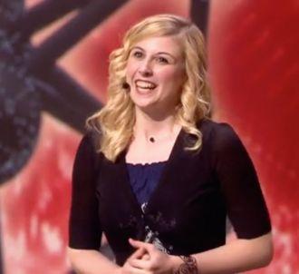 Laura Laune lors de sa prestation dans 'Belgium's Got...