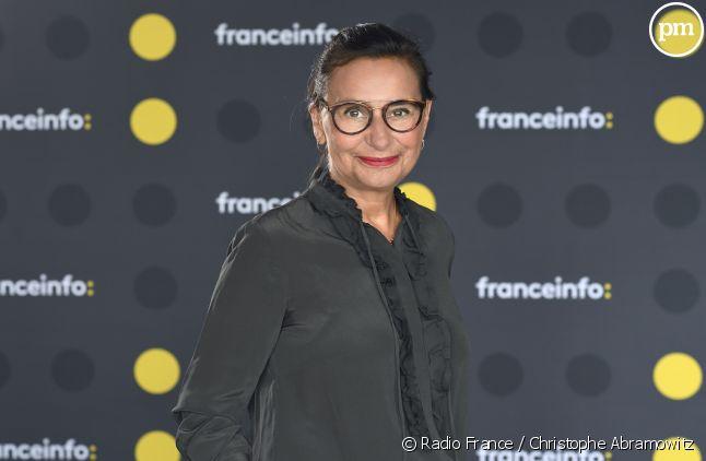 Marie Colmant présentatrice sur franceinfo