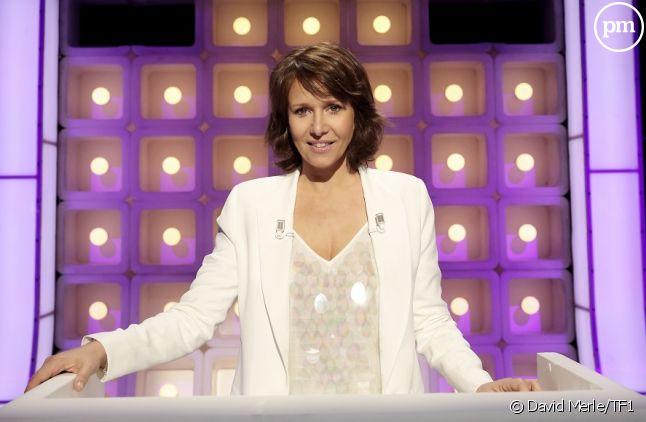 """Carole Rousseau présente """"Le Grand Concours"""" sur TF1"""