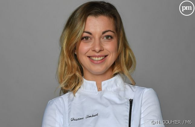 "Justine, candidate de ""Top Chef"" 2018"