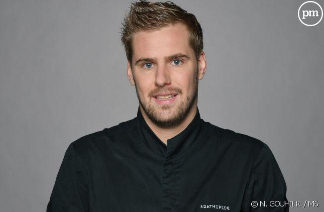 """Jérémy, candidat de """"Top Chef"""" 2018"""