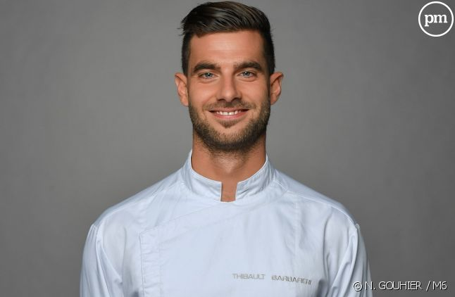 "Thibault, candidat de ""Top Chef"" 2018"