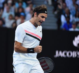 Roger Federer finaliste de l'Open d'Australie.