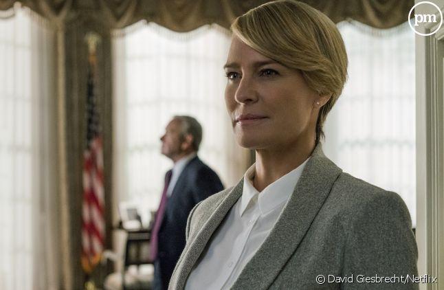 """Robin Wright devient l'héroïne principale de """"House of Cards"""" à la faveur du départ forcé de Kevin Spacey"""