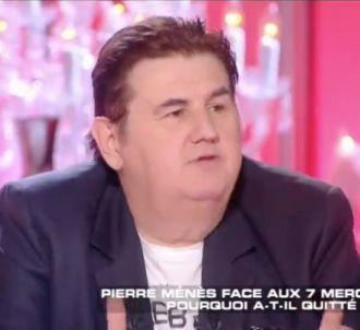 Pierre Ménès dans 'Les Terriens du dimanche'.