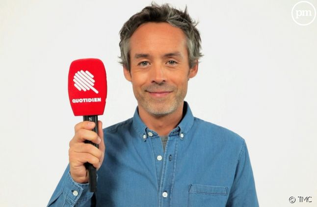 """Yann Barthès anime """"Quotidien"""" du lundi au vendredi sur TMC"""