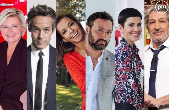 TV Notes 2018 : Les animateurs/animatrices