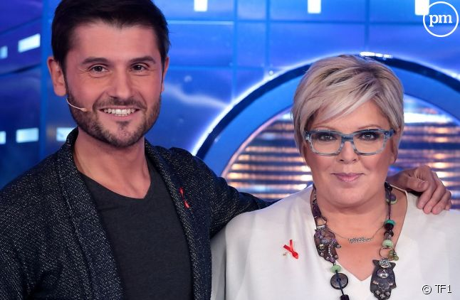 Laurence Boccolini et Christophe Beaugrand
