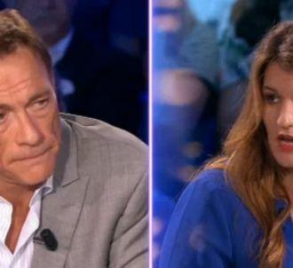 Jean-Claude Van Damme face à Marlène Schiappa