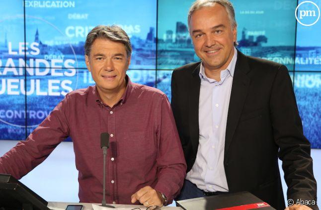 <span>Alain Marschall et Olivier Truchot</span>