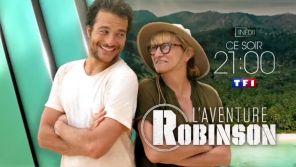"""""""L'aventure Robinson"""" : Amir et Christine Bravo sur une île déserte ce soir sur TF1"""
