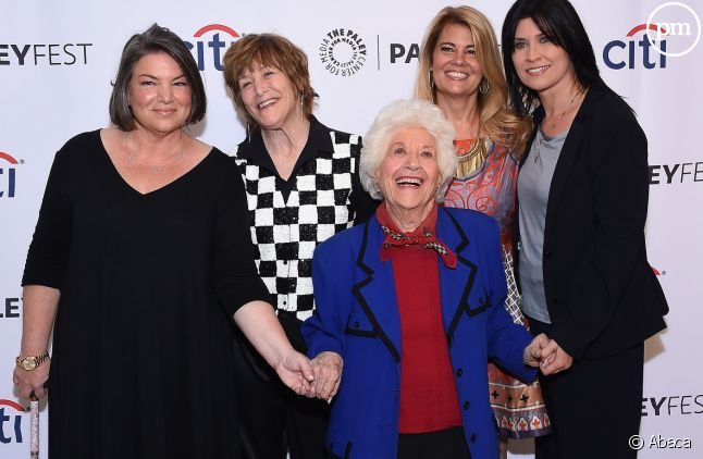 Charlotte Rae et ses partenaires s'étaient retrouvés pour les 35 ans de la série en 2014