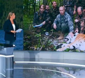 Une photo de Vladimir Poutine mal interprétée