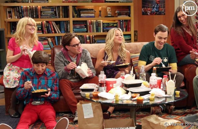 "Le cast de ""The Big Bang Theory"""