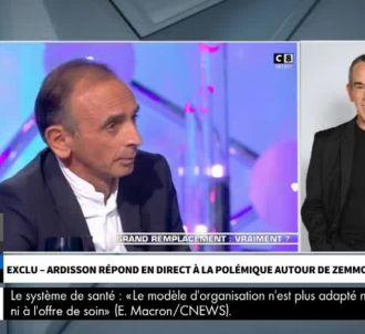 Thierry Ardisson joint par téléphone sur CNews