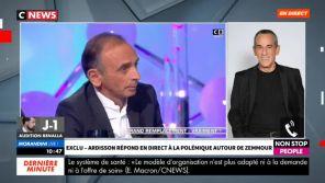 """Affaire Zemmour : Thierry Ardisson flingue Hapsatou Sy, la chroniqueuse publie des extraits non-diffusés de """"LTD"""""""