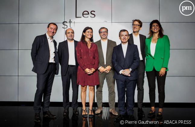 L'équipe de dirigeants d'Altice France