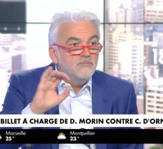 Pascal Praud énervé contre une chronique de Daniel Morin...