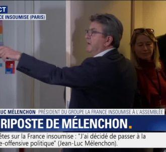 Jean-Luc Mélenchon s'énerve en conférence de presse