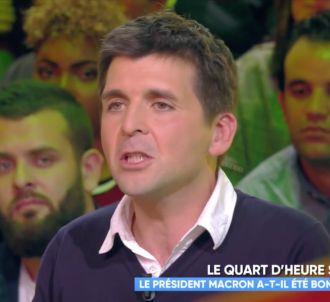 Thomas Sotto regrette qu'Emmanuel Macron ne se soit pas...
