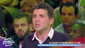 """""""Peut-être qu'ils ont peur"""" : Thomas Sotto regrette qu'Emmanuel Macron ne vienne pas sur France 2"""