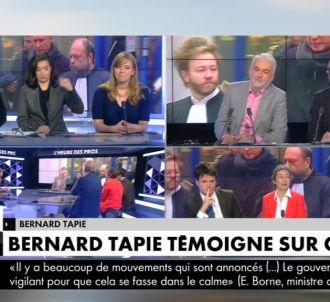 Bernard Tapie appelle Pascal Praud en direct pour se...