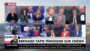 CNews : Bernard Tapie appelle Pascal Praud en direct pour le recadrer