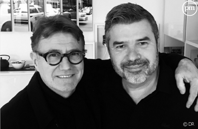 Jérôme Revon (à gauche) et Stéphane Gateau