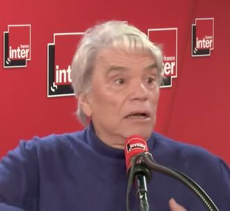 Bernard Tapie au micro de Léa Salamé