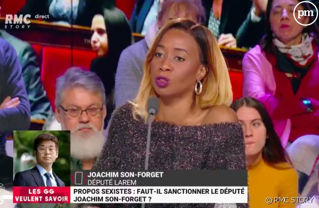 """Joëlle Dago-Serry dans """"Les Grandes Gueules"""""""
