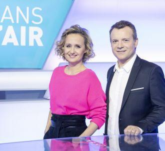 Caroline Roux et Axel de Tarlé sur le nouveau plateau de...