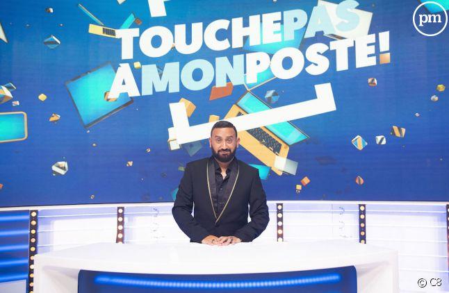 """Cyril Hanouna, présentateur de """"Touche pas à mon poste""""."""
