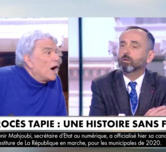 Bernard Tapie en colère contre Robert Ménard