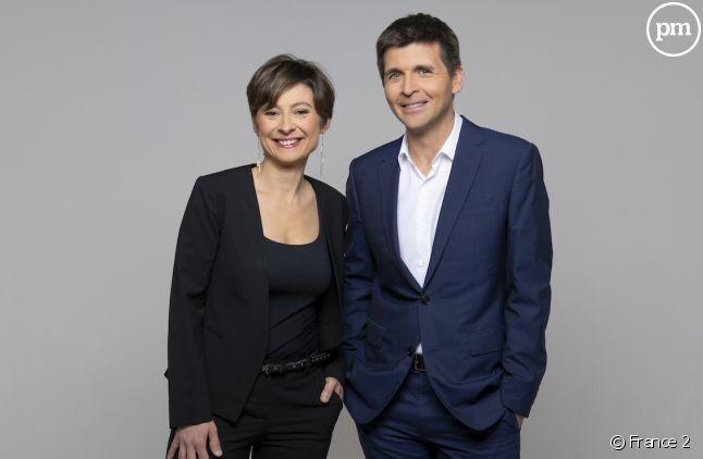 """Alexandra Bensaid et Thomas Sotto présenteront """"L'émission politique"""" spéciale européennes."""