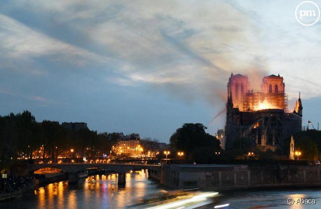 Incendie à Notre-Dame