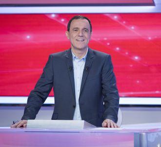 Thierry Beccaro sur le plateau de 'Motus'