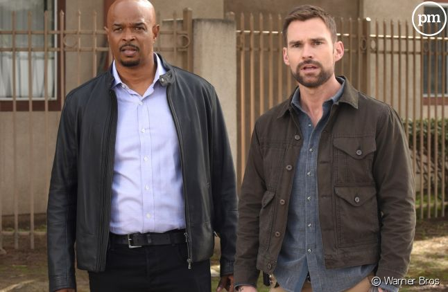 "<span>Damon Wayans et Seann William Scott dans ""L'Arme fatale""</span>"