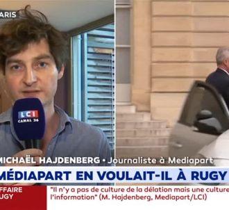 Un journaliste de 'Mediapart' interpellé sur LCI