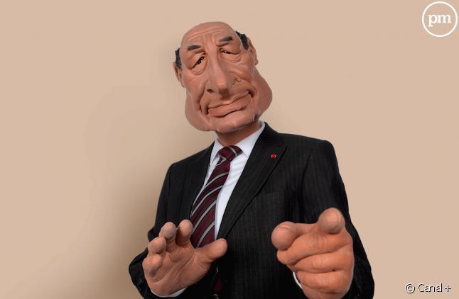 """Jacques Chirac dans """"Les Guignols"""""""