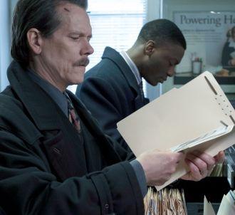 Kevin Bacon et Aldis Hodge dans 'City on a Hill'