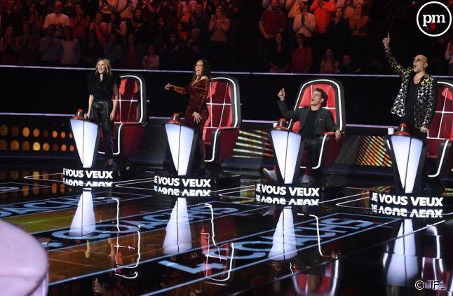 """Les coachs de """"The Voice"""" 2020"""