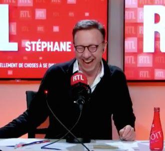 Fou rire dans 'A la bonne heure' sur RTL.