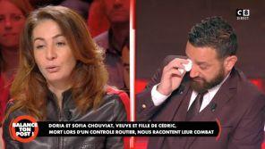 """""""Balance ton post !"""" : Cyril Hanouna s'effondre en larmes face au témoignage de la veuve de Cédric Chouviat"""